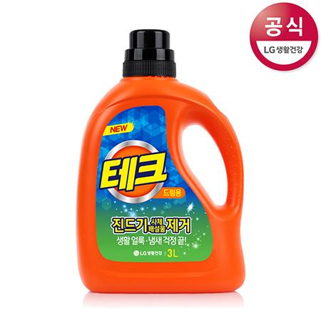 [LG생활건강] 테크 액체세제 용기 3L(일반용)